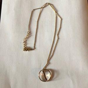 Lili Claspe Gold Vermeil Necklace Blue Stones